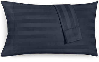 Charter Club Damask Stripe King Pillowcase Set, 550 Thread Count 100% Supima Cotton, Created for Macy's Bedding