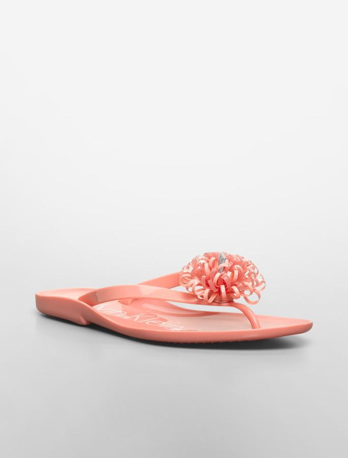 Calvin Klein Janelle Jelly Sandal