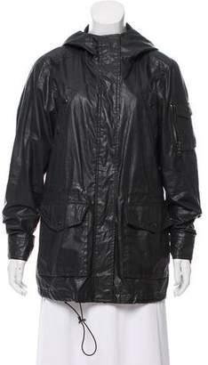 SAM. Hooded Lightweight Jacket
