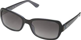 GUESS Women's Gu7474 Rectangular Sunglasses
