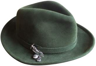 Hermes Green Wool Hats