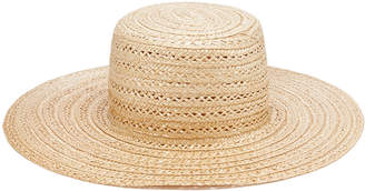 Reinhard Plank Military Straw Hat