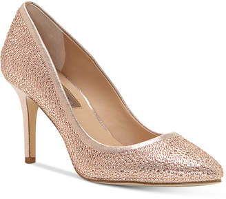 INC International Concepts I.N.C. Zitah Pointed Toe Rhinestone Evening Pumps, Created for Macy's