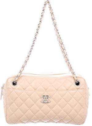 Chanel Lambskin Quilted Camera Bag