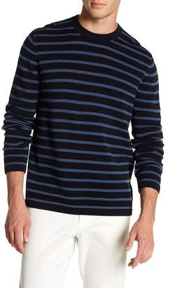 Vince Long Sleeve Striped Pullover