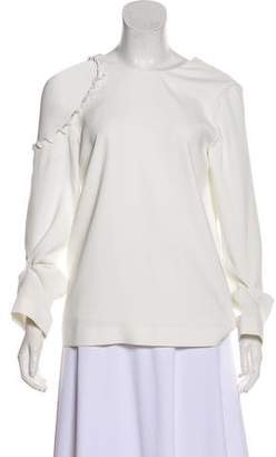 IRO Cold-Shoulder Long Sleeve Top