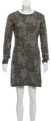 Matthew Williamson Mini Sweater Dress