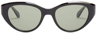 Garrett Leight Del Rey 50 cat-eye frame sunglasses