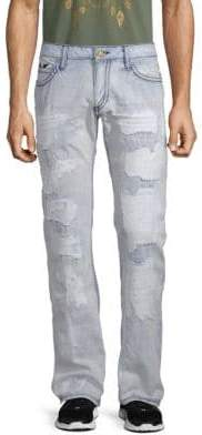 Dyed Cotton Jeans