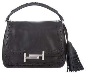 Tod's Small Leather Satchel Black Small Leather Satchel