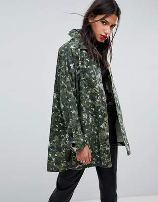 Asos Swing Camo Jacket