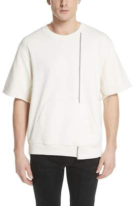 3.1 Phillip Lim Reconstructed Short Sleeve Sweatshirt