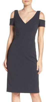 Women's Vera Wang Sheath Dress $228 thestylecure.com