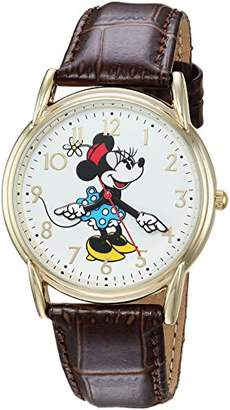 Disney Women's Minnie Mouse' Quartz Metal Casual Watch