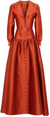 Alexis Mabille Tie Shirt Gown