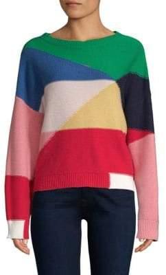 Joie Megu Colorblock Knit Pullover