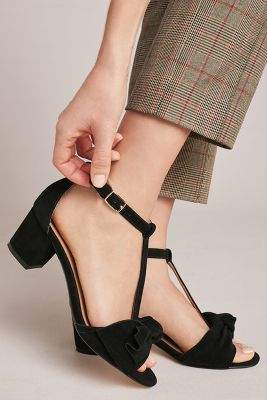 Anthropologie By  T-Strap Bow Heels