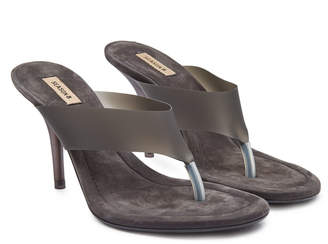 Yeezy Sandals with Leather