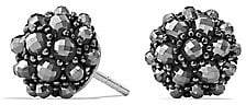 David Yurman Women's Cable Berries Faceted Gemstone& Stainless Sterling Earrings