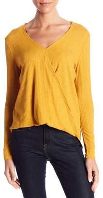 Elodie Hi-Lo Ribbed Knit Top