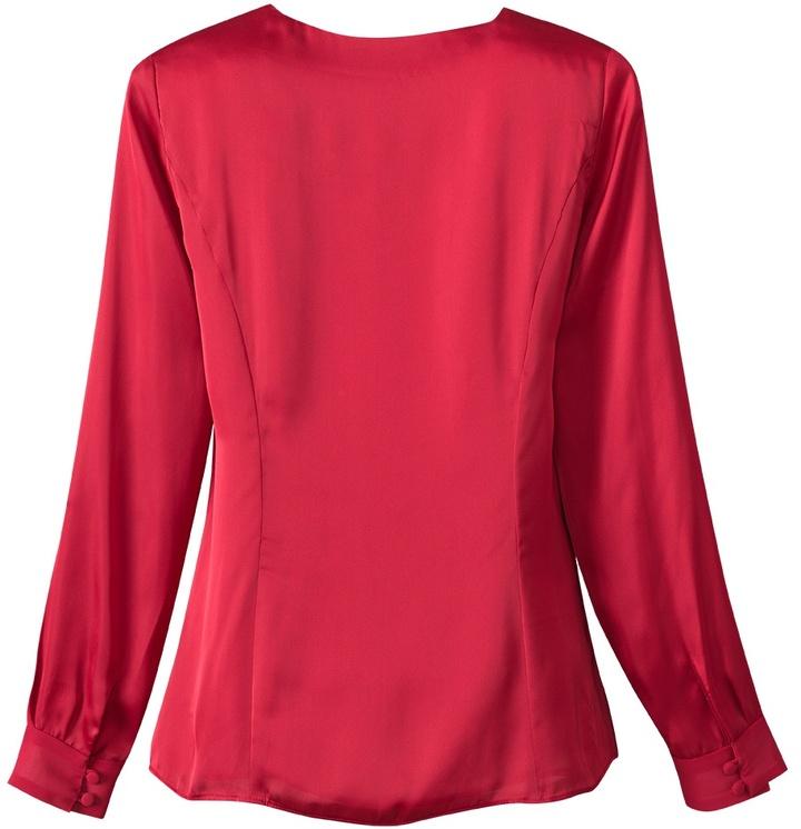 Coldwater Creek Fluid chiffon shirt