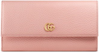 Gucci GG Marmont leather continental wallet
