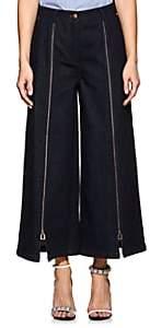 Osman Women's Katya Zip-Front Cotton Denim Culottes - Navy