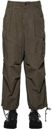 Yohji Yamamoto Weather Resistant Cotton Blend Pants