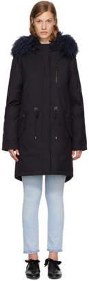 Mackage SSENSE Exclusive Navy Down Renata Coat