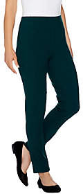 Women with Control Tall Slim Leg Ankle Pantsw/ Front Seam