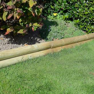 Grange Fencing Pack of 4 Horizontal Log Boards