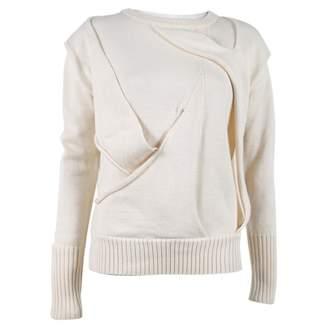 Nicholas K White Wool Knitwear for Women