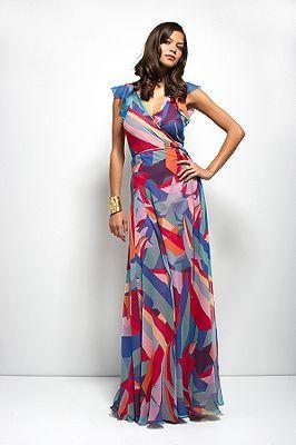 Maupiti Wrap Dress in New Wonder Woman