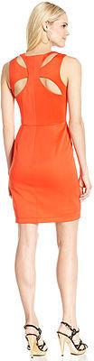 Jessica Simpson Sleeveless Cutout Sheath Dress