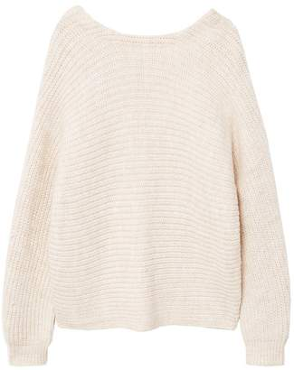 MANGO Knot detail sweater