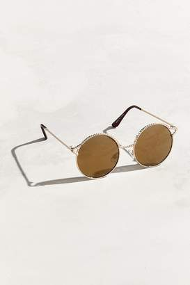 Urban Outfitters Rope Top Round Sunglasses