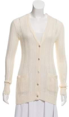 Ralph Lauren Rib Knit V-Neck Cardigan