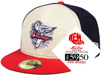 New Era Chicago White Sox Retro Stock 59FIFTY Fitted Cap