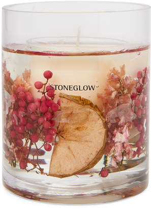 Stoneglow Apple Blossom Natural Wax Botanical Candle