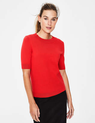 Boden Colour Detail Knitted Tee