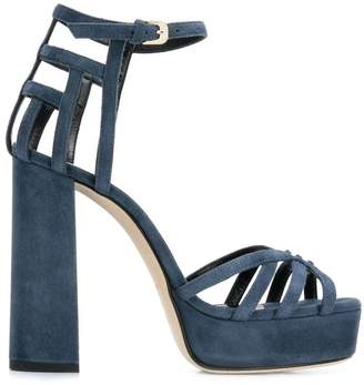 Lanvin strappy block heel sandals