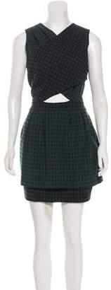 Timo Weiland Jacquard Check Dress