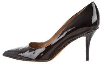 Givenchy Patent Leather Pointed-Toe Pumps