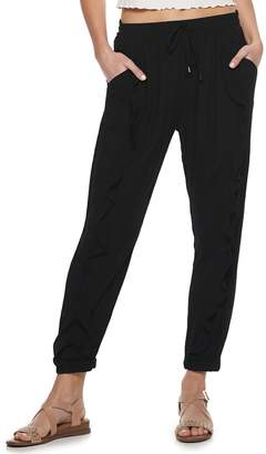 American Rag Juniors' Ruffle Soft Pants