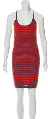 Alexander Wang Terrycloth Striped Dress