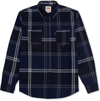 Levi's Men's Plaid Two-Pocket Shirt