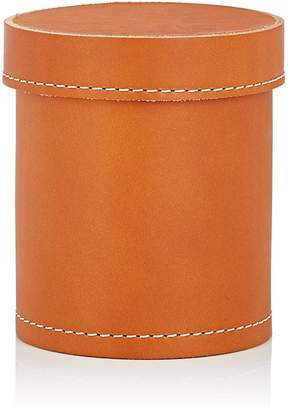 Arte & Cuoio Leather Lidded Pencil Cup