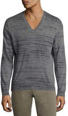 Tomas Maier Printed Cash Sweater
