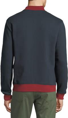 Original Penguin Men's Colorblock Heavyweight Fleece Zip-Front Jacket