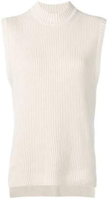 REJINA PYO ribbed knit sleeveless jumper